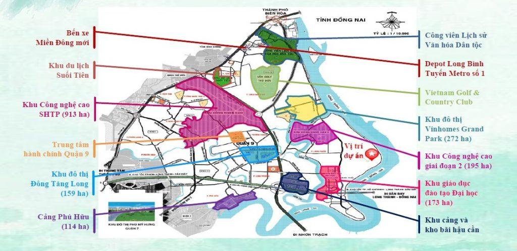 dự án đất nền long phước, Việt nhân long phước 1234, khu dân cư long phước, đảo ngọc long phước, long phước quận 9